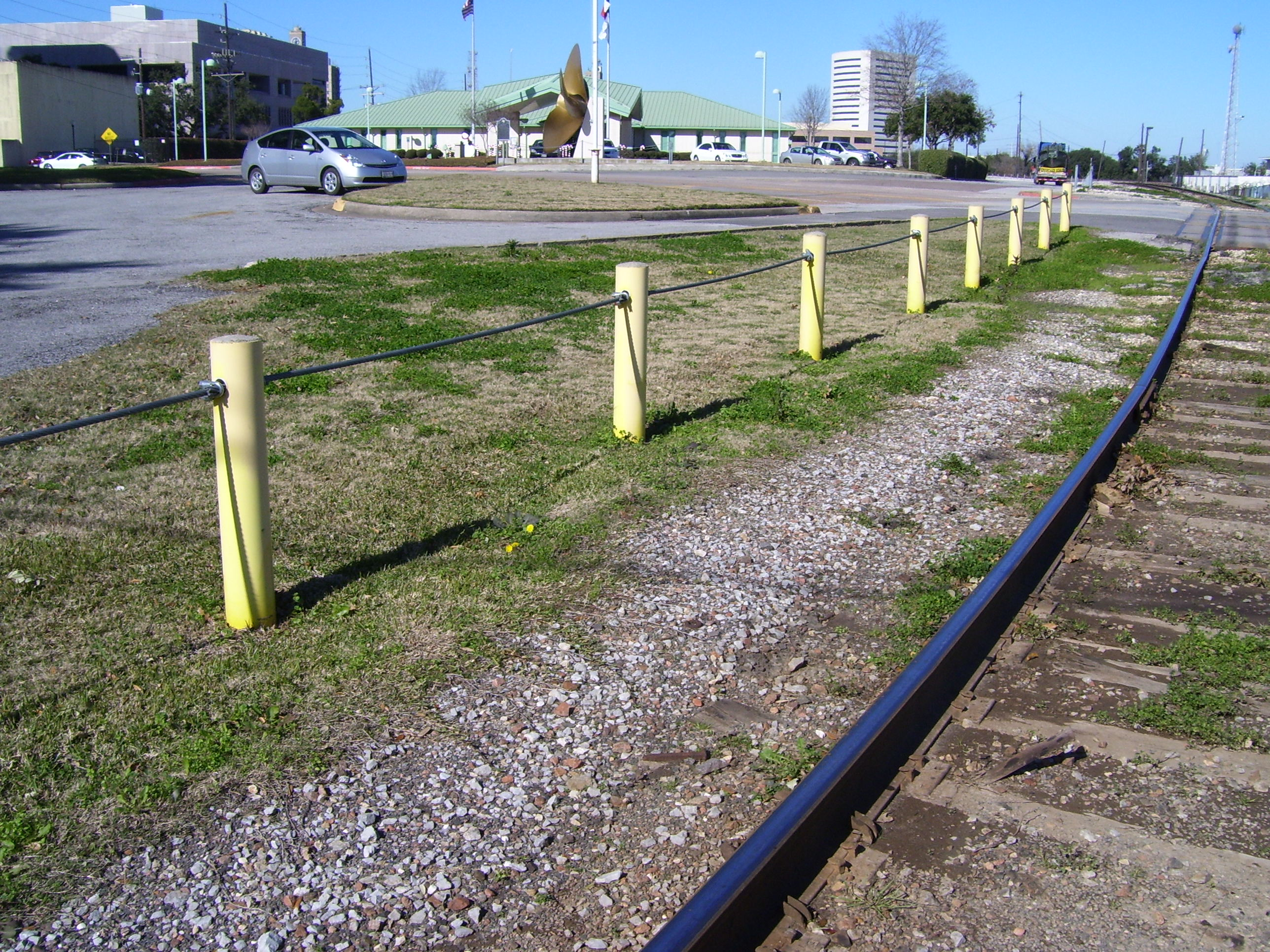 Homeland Security Bollards @ Port of Beaumont